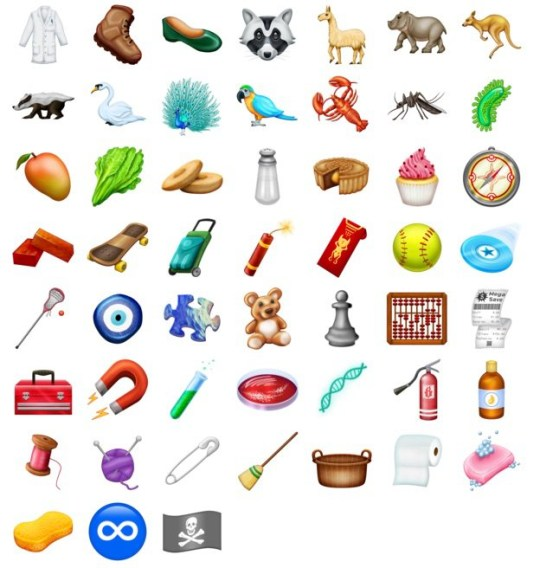 Check out the 157 emojis coming to iPhone later this year in