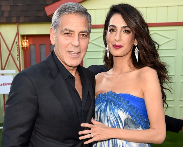 Amal Clooney Royal Wedding.George And Amal Clooney Will Attend Harry And Meghan S Royal Wedding