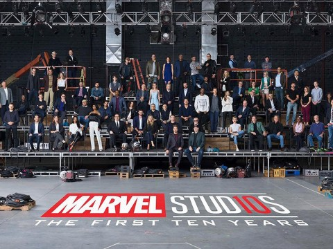 Marvel releases epic star-studded photo for 10 year anniversary of the franchise