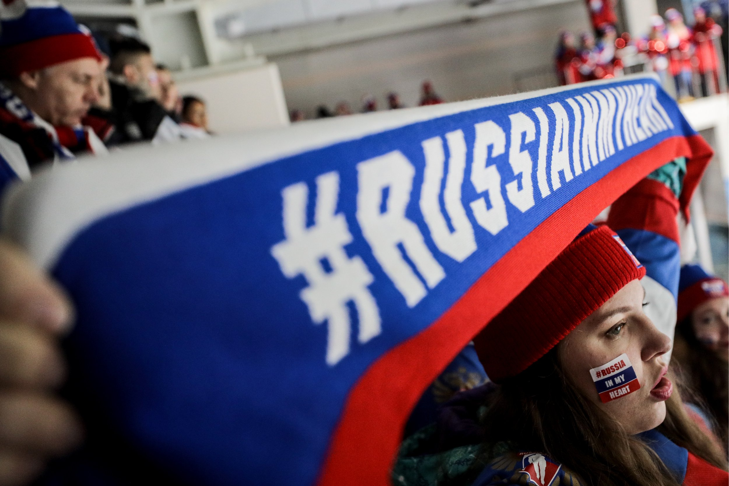 Russia banned from flying national flag at the end of Winter Olympics