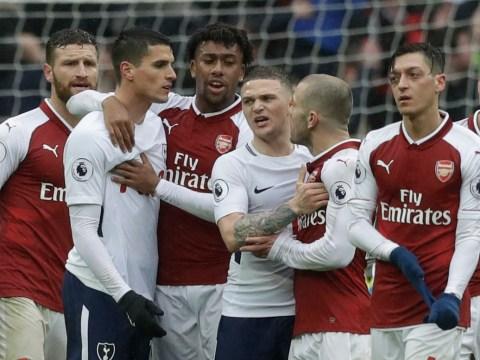What Erik Lamela told Jack Wilshere before bust-up in Tottenham's win over Arsenal