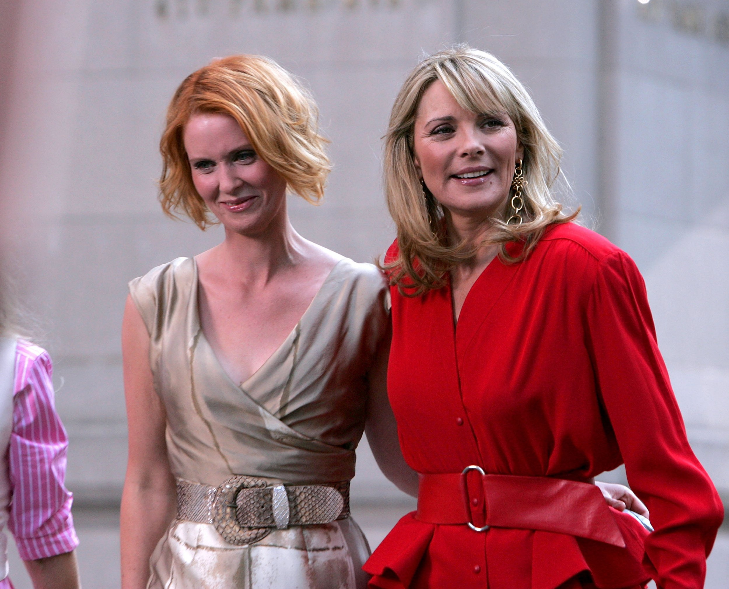 Kim Cattrall's response to Cynthia Nixon was very different to her message to Sarah Jessica Parker