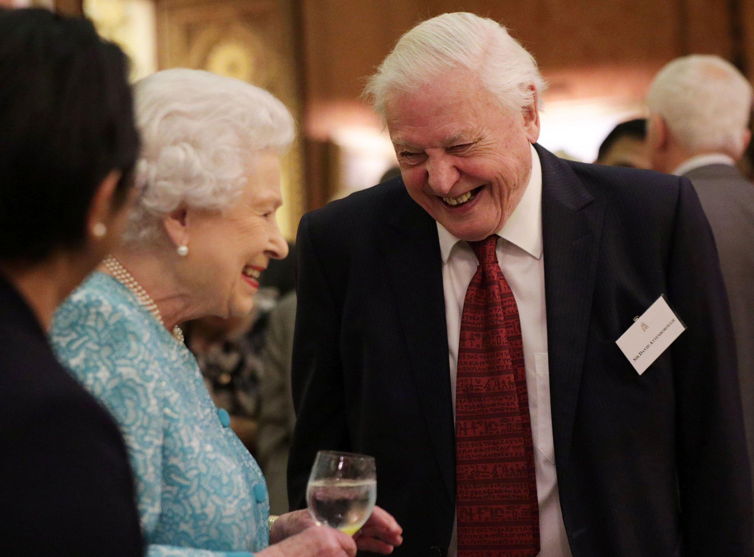 Queen bans plastic from Royal estates after chatting with Sir David Attenborough