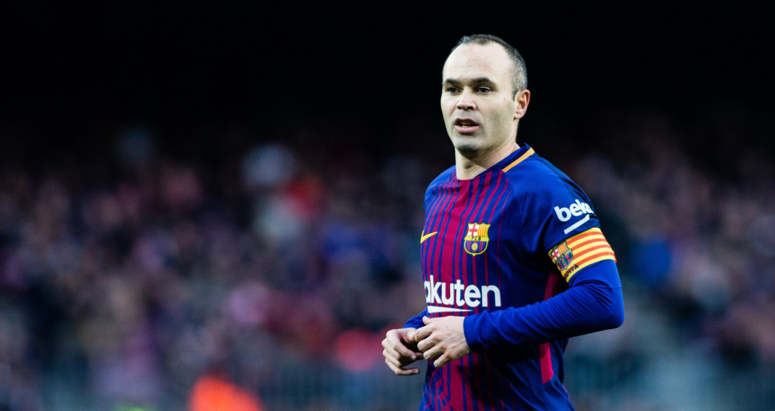 Andres Iniesta confirms discussion with Pep Guardiola over potential move to Man City
