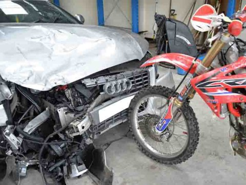 Man broke motorcyclist's legs by driving straight at him in 'revenge' attack