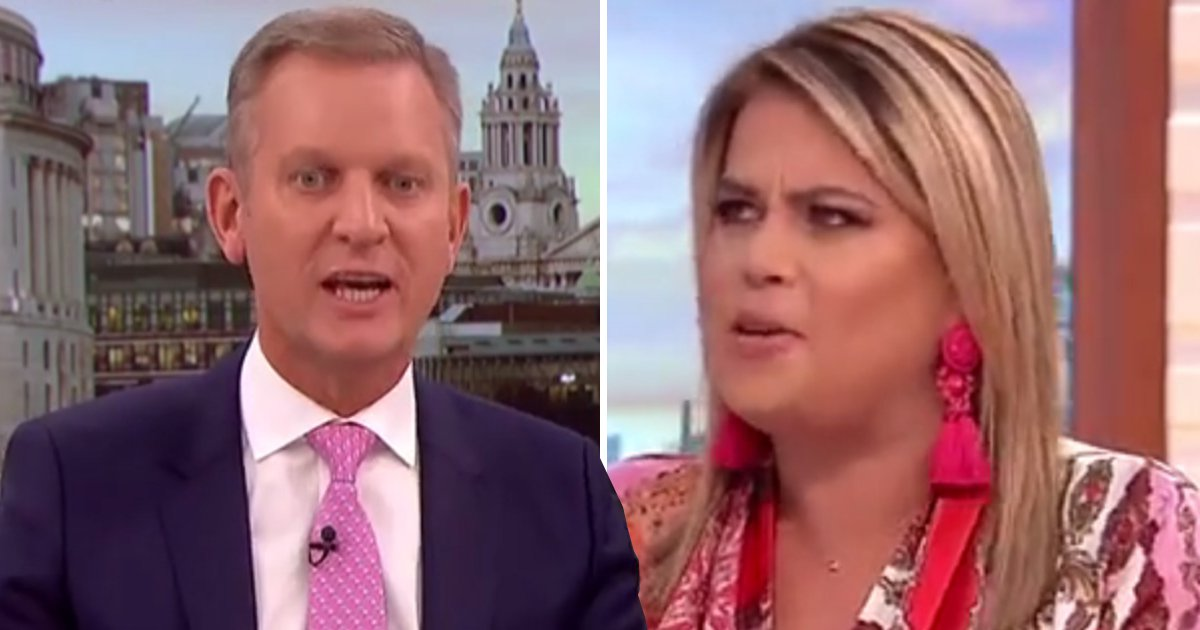 Jeremy Kyle fumes at Nadia Essex after she declares that 'humans are on the planet to reproduce'