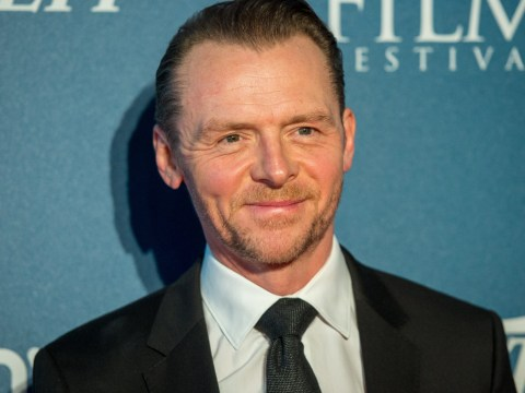 Simon Pegg is standing by Oxfam despite Haiti sex scandal