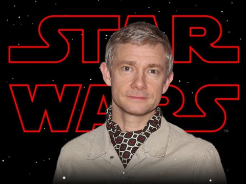 Martin Freeman reveals he was turned down for role in Star Wars because 'they preferred other British actors'