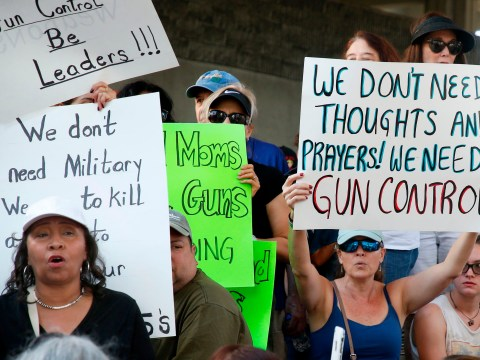 What is the Second Amendment and how does it influence gun control laws?