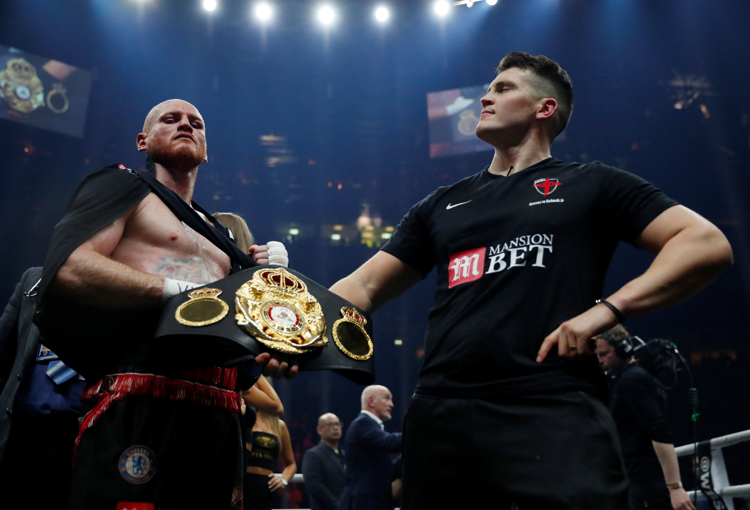 George Groves was never IBO super-middleweight champion and Chris Eubank Jr can reclaim title