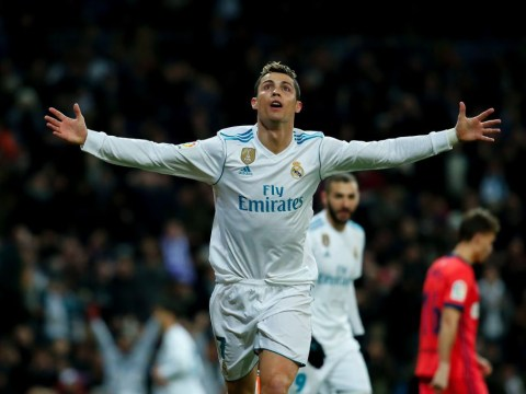 Cristiano Ronaldo becomes the first player in Champions League history to score 100 goals for one club