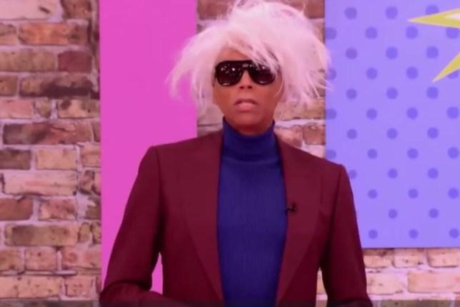 RuPaul as Andy Warhol