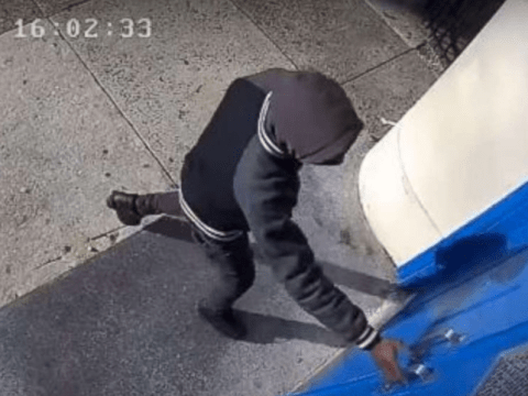 Teen caught on camera trying to enter Philadelphia school armed with a gun