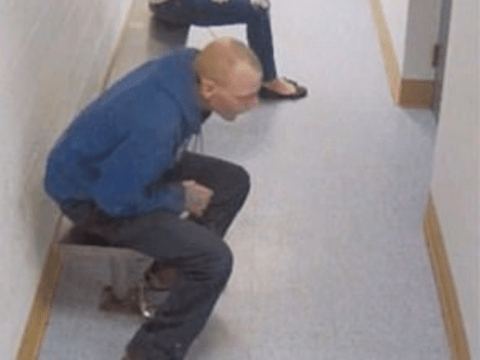 Man accused of theft wriggles out of handcuffs and flees police station