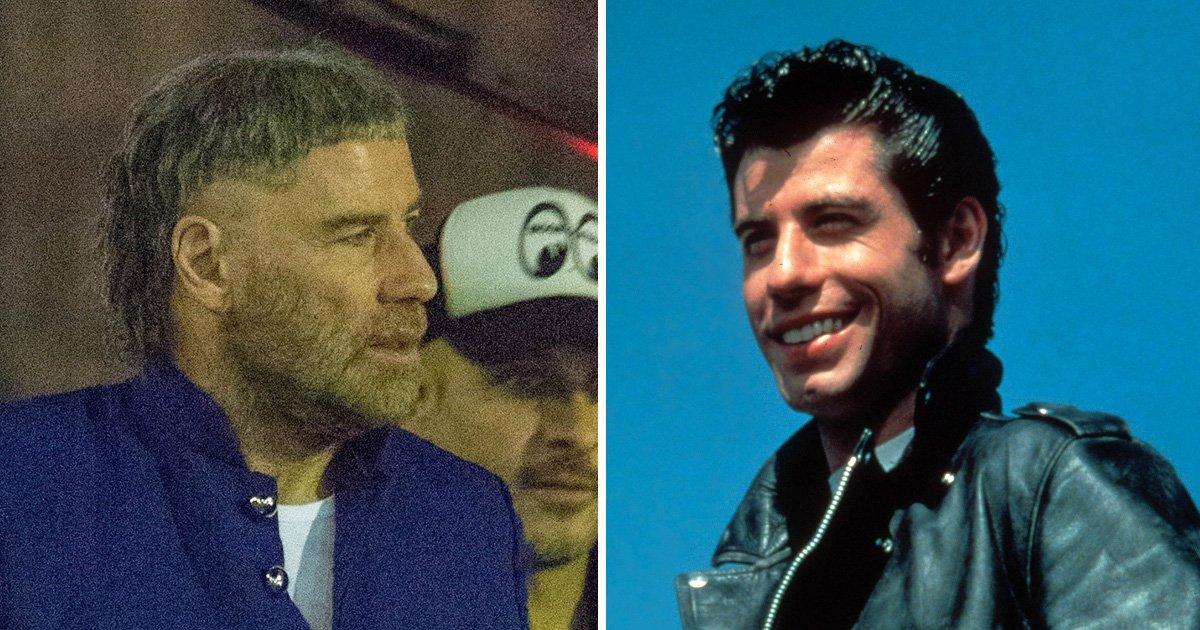 Danny Zuko who? John Travolta sports shocking grey haircut on set of new movie