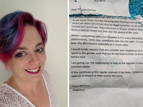Mum speaks out about anonymous letter from neighbours complaining about son's autism