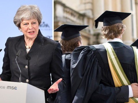 Theresa May admits tuition fees aren't working how they should be