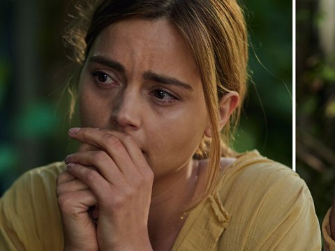 Jenna Coleman looks like a woman on edge in BBC drama The Cry