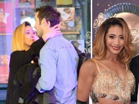 Karen Clifton pictured embracing opera singer on night out amid Kevin 'split' speculation