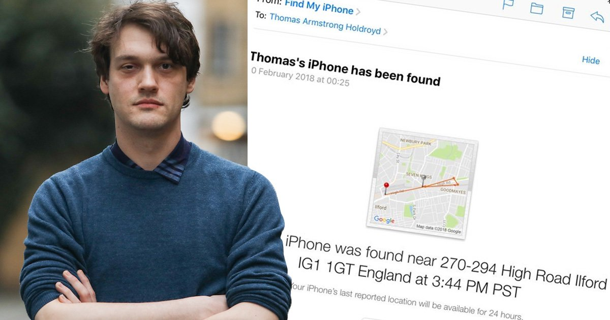 Teacher's iPhone mysteriously vanishes after being traced to police station