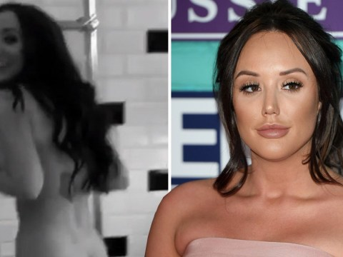 Charlotte Crosby celebrates 'hump day' with naked video, as you do