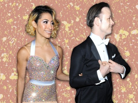 Karen and Kevin Clifton put on united front at Bruce Forsyth tribute
