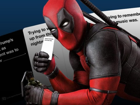 Deadpool gets his own Cards Against Humanity-style game and it's so very him