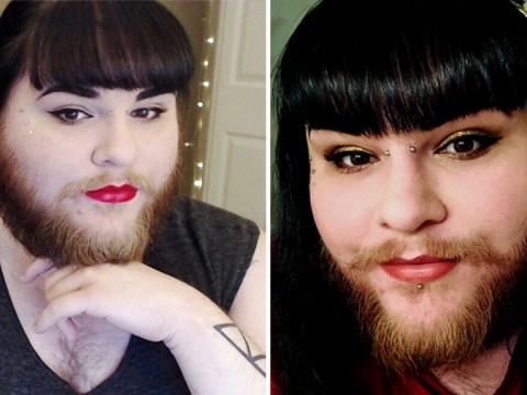 Woman grows a hipster beard after a decade of shaving her face and finally finds love