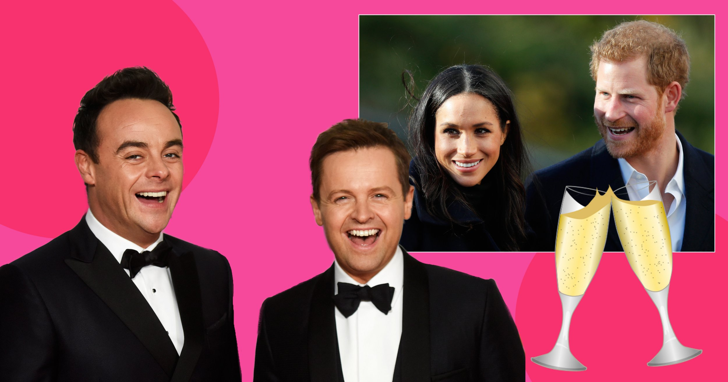 Ant and Dec are hoping for an invite to the 'night do' of the Royal Wedding