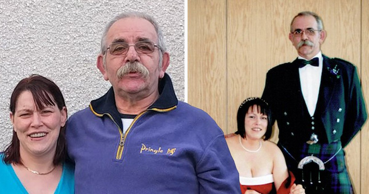 Husband and wife with huge age gap forced to move after he is branded a 'paedo'