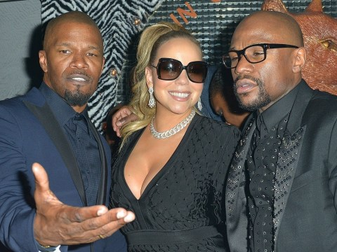 Floyd Mayweather rings in 41st birthday with lavish bash attended by Mariah Carey and Jamie Foxx