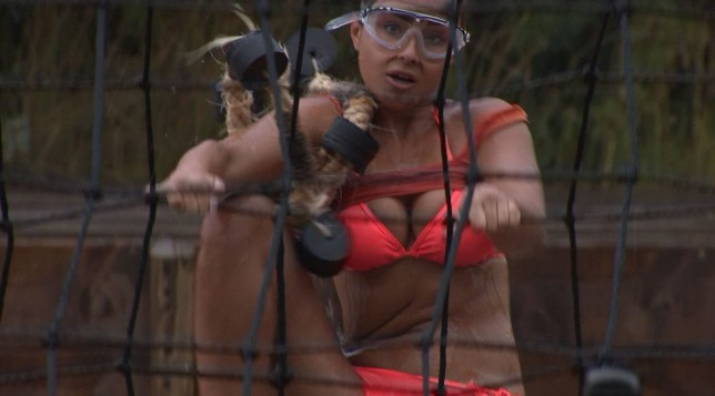 Editorial Use Only. No merchandising Mandatory Credit: Photo by ITV/REX/Shutterstock (9437376ak) Georgia Cole during the challenge 'Survival Of The Fittest' TV show, Series 1, Episode 15, South Africa - 25 Feb 2018