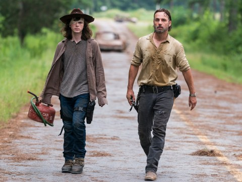 This is what Carl's dying letter to Negan said in The Walking Dead