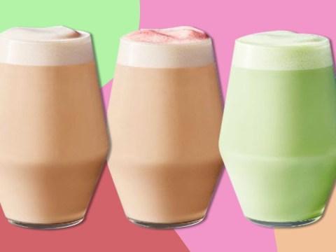 Starbucks has added three new tea lattes to its menu