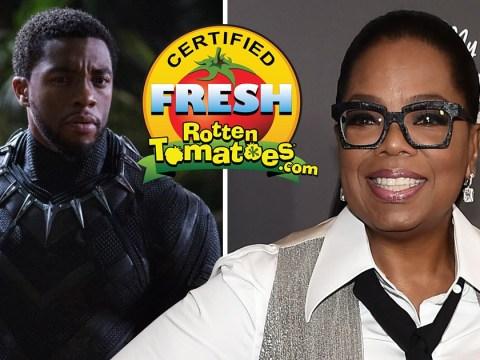 Oprah declares Marvel's Black Panther 'phenomenal' as the movie looks set to smash box office records