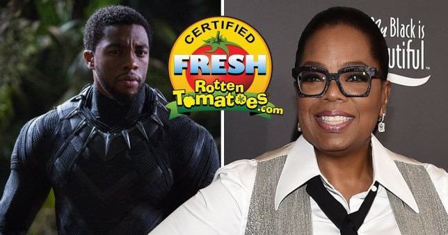 Black Panther could smash Deadpool's movie record thanks to its critical success and fan reviews from the likes of Oprah.