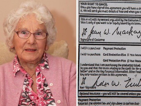 RBS 'forged great-grandma's signature and signed her up for PPI she didn't want'