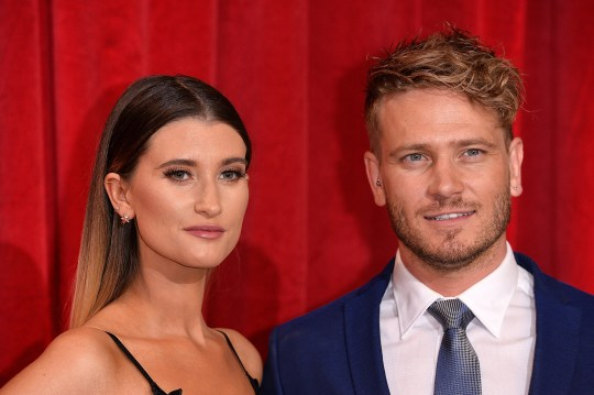 Charley Webb and Matthew Wolfenden are married