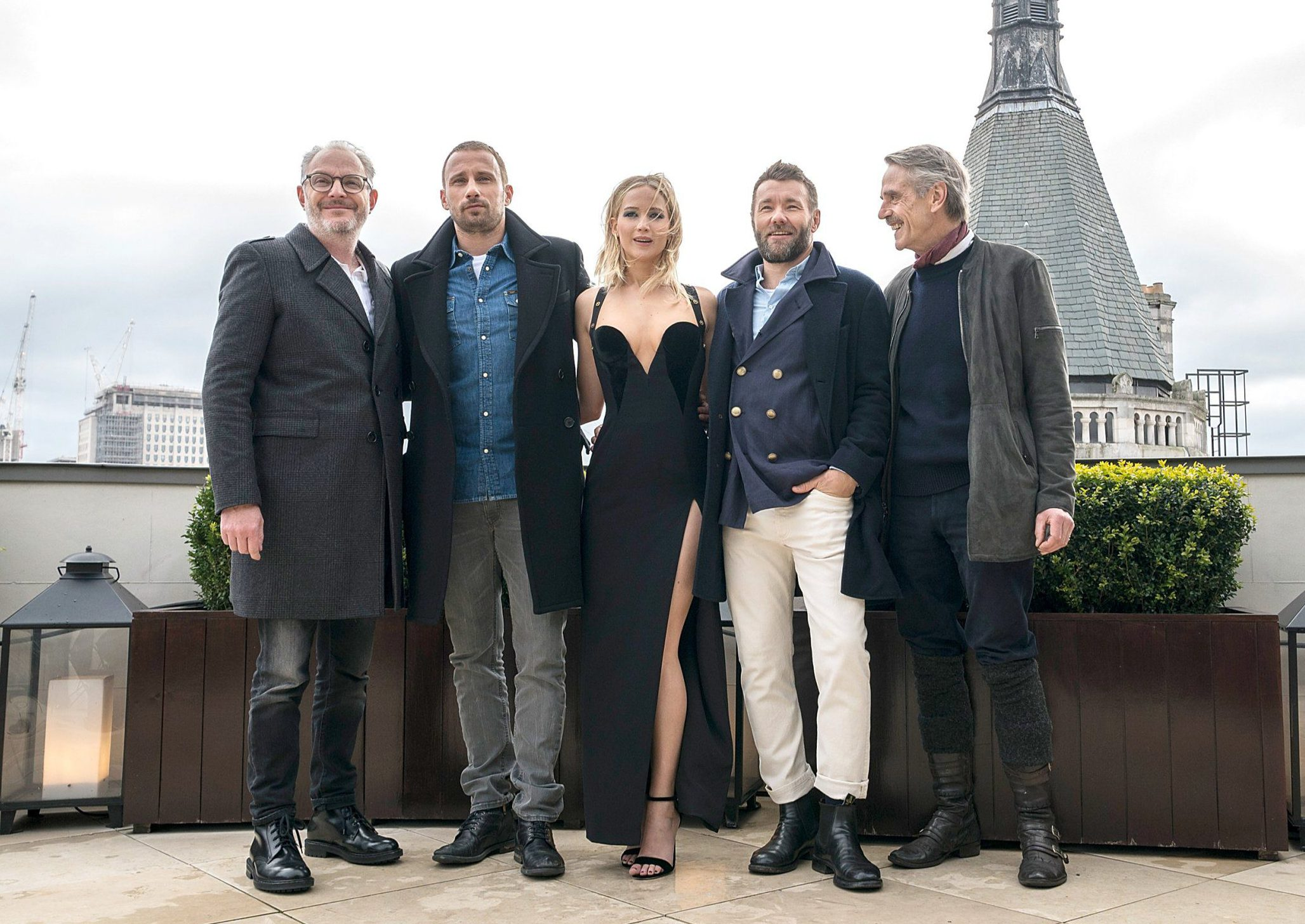 Jennifer Lawrence at Red Sparrow photocall