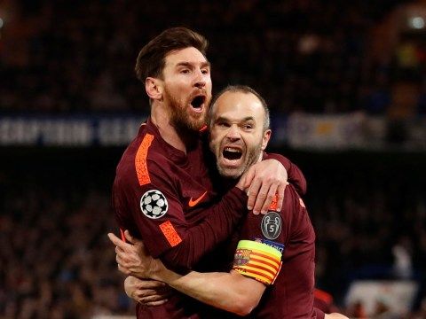 Barcelona coach Ernesto Valverde provides update on Lionel Messi and Andres Iniesta ahead of Chelsea showdown