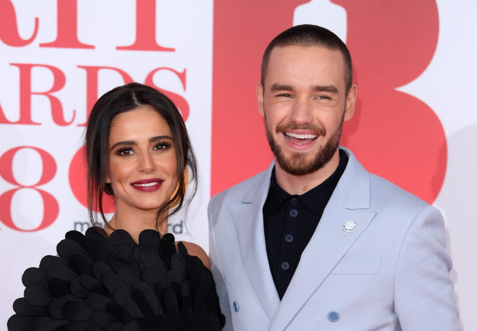 Cheryl and Liam Payne ignore split rumours as they walk the Brits red carpet hand in hand