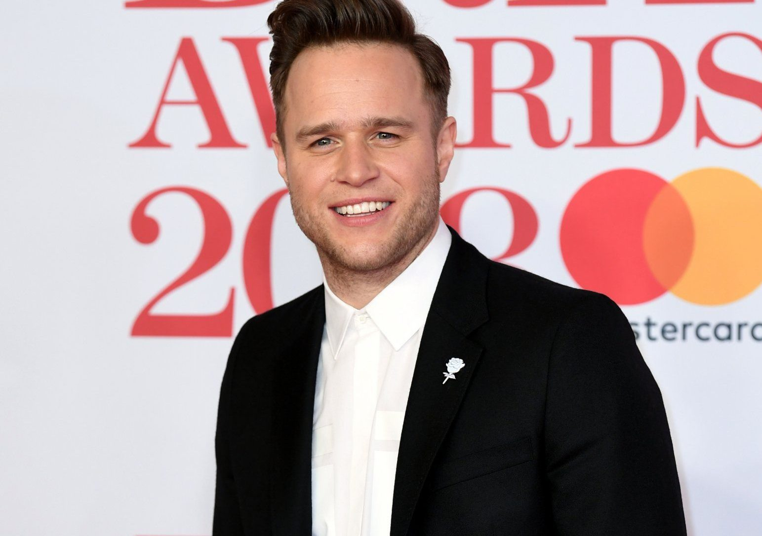 Olly murs at Brits