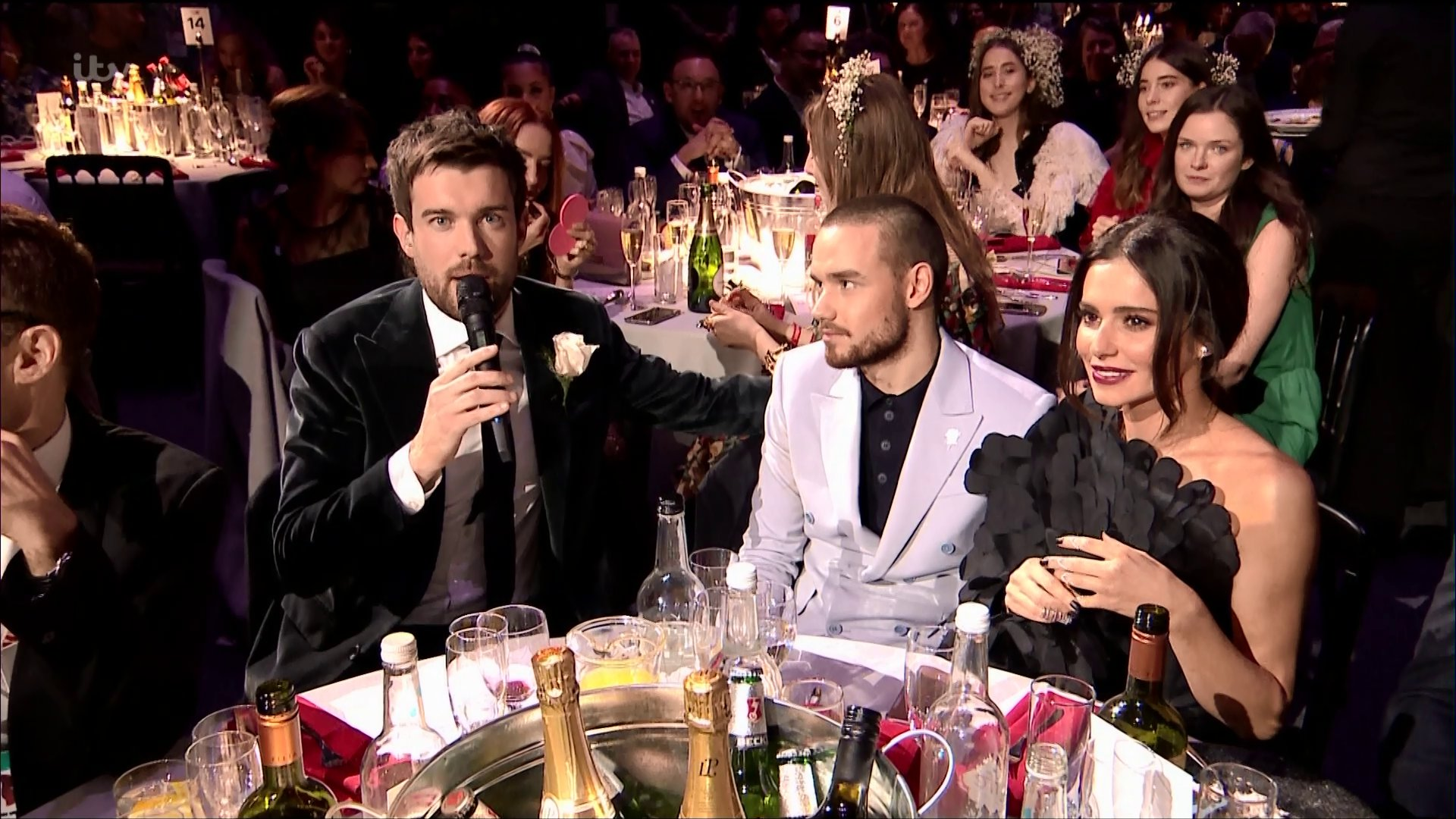 Cheryl uses the Brit Awards to tell the UK public her 'safe word in the bedroom' with Liam Payne