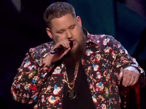 Rag'n'Bone Man's attempt to beat the watershed foiled as he swears during Brit Awards speech