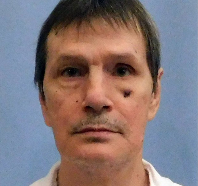 This image provided by the Alabama Department of Corrections shows Doyle Lee Hamm, an inmate scheduled to be executed Thursday, Feb. 22, 2018 in Alabama. Alabama is set to execute Hamm, who argues his past drug use and cancer have too badly damaged his veins and will make the lethal injection unconstitutionally painful. (Alabama Department of Corrections via AP)