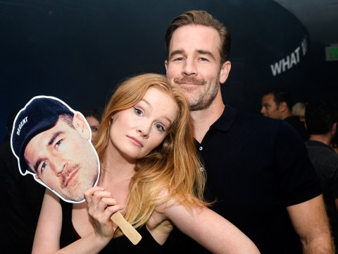 James Van Der Beek expecting fifth child with wife Kimberly