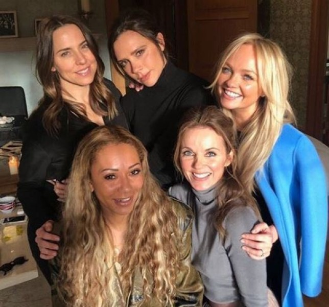 """Geri Horner says the Spice Girls are """"talking about"""" doing gigs or putting out new material: """"Watch this space"""""""