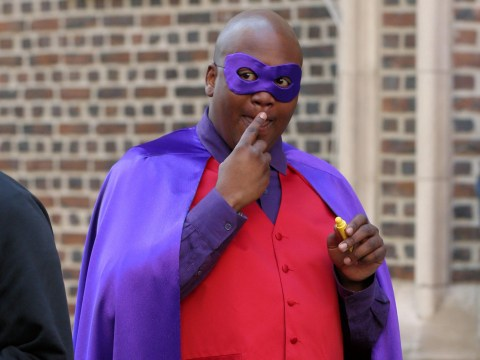 Tituss Burgess spotted in eye-catching cape as filming begins on Unbreakable Kimmy Schmidt season four