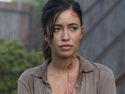 The Walking Dead's Christian Serratos reveals struggle to return to work for explosive scenes after C-section