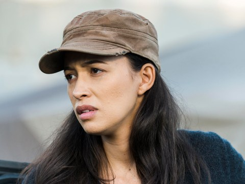The Walking Dead's Christian Serratos 'shocked' by Carl's death as she teases season 8